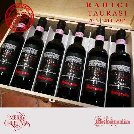 LIMITED EDITION Radici Taurasi_Wooden Case